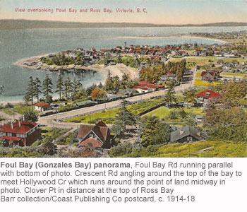 Gonzales Bay panorama